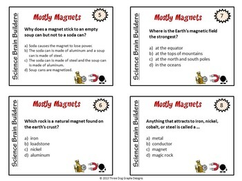 Science Task Cards Bundle - Heat, Electricity, Adaptations, Space, + More