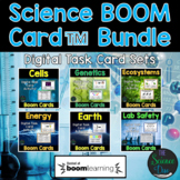Science Task Card Bundle - Digital Boom Cards™