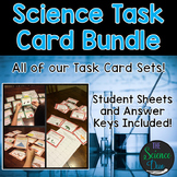 Science Task Card Bundle - Distance Learning Compatible