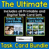 Science Task Card Bundle - Includes Digital Boom Cards™
