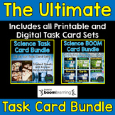 Science Task Card Bundle - Includes Digital Boom Cards™ - Distance Learning