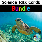 Science Task Cards - 34 Sets - Growing Bundle