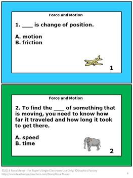 Science Task Card and Worksheet Bundle