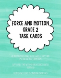 Science Task Cards - Force and Motion Grade 2!