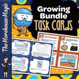 Middle School Science Task Cards Growing Bundle