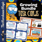 Middle School Science Task Cards Growing Bundle