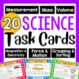 Science Task Cards - Hands on Practice with Science Tools and Skills