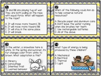 Science Task Cards Sampler {FREEBIE}