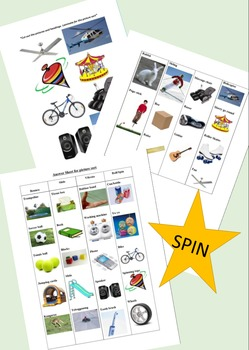 Science Task Cards- Spinning (Foundation/Prep)