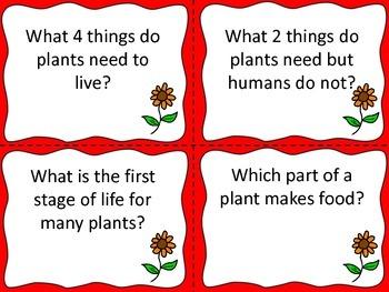 Science Task Cards: Third Grade