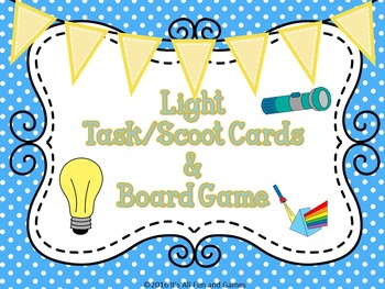 Science Task / Scoot Cards 4th Grade Bundle Ecology, Light, Sound, Weather...