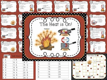 Science Task / Scoot Card 3rd Grade Bundle Georgia, Pollution, Heat, Magnets...