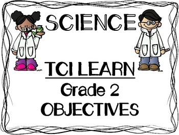 Science Teach TCI Series Grade 2 Objectives