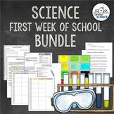 (Editable) Science Teacher Back-to-School Bundle for First Week of School