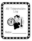 Science Temperature Log- temperature, making predictions a