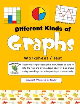 Science Test: Different Types / Kinds of Graphs