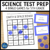Science Test Prep 5th Grade Vocabulary Bingo