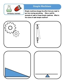 Science Test Prep -Elementary Physical Science Edition