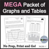 5th Grade Science 4th Grade Science Data Tables Graphs and