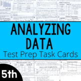 Science Test Prep Task Cards {Analyzing Data}