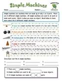 Science Test: Simple Machines