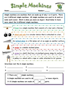 Science Test: Simple Machines