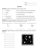 Astronomy/ Space: Unit Test and Study Guide