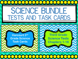 Science Tests and Task Cards Bundle: Third Grade