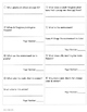 Science Text Dependent Questions ~ 2nd Grade ~ Scott Fores