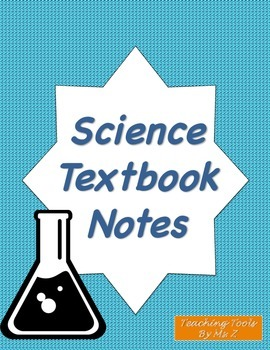 """Science Textbook Note Organizer - """"Wow"""" and """"How"""" Notes"""