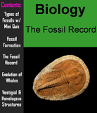 Fossil Record PowerPoint - Science: Biology