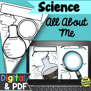 Science Themed All About Me Pennant