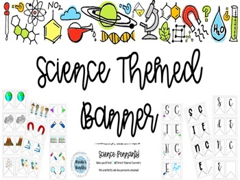 Science Themed Banner