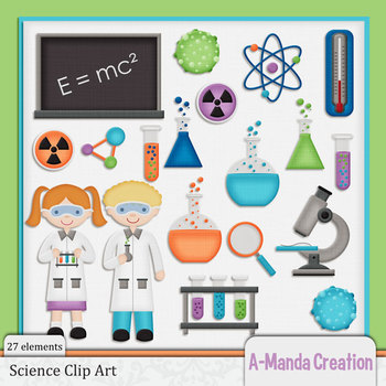 Science Themed Clip Art