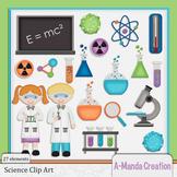 Science Themed Clip Art