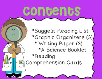Science-Themed Mini Unit~ Includes Graphic Organizers & Much More!