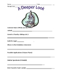 Science Themed Student Introduction Worksheet