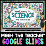 Science Themed Virtual Meet the Teacher or Open House