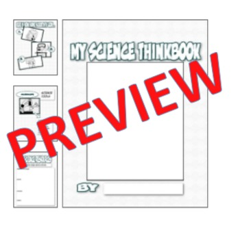 Be A Scientist Thinkbook for Guided Reading Informational Text & Beyond