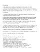 Science Thinking Bubble- Landform QR Code Review Questions