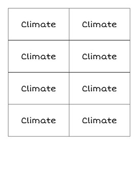 Climate Vs. Weather War