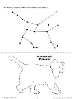 Science Through Literature: Stars and Constellations