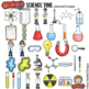 """Science Clip Art: """"Science Time"""""""