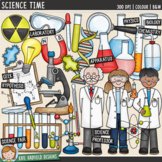 "Science Clip Art: ""Science Time"""