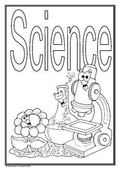 Science Title Pages - Different Designs - Cover Pages