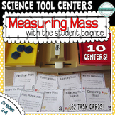 Science Tool Centers: Measuring Mass with a Student Balance (162 Task Cards!)