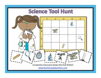 Science Tool Hunt