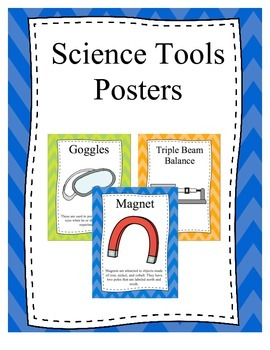 Science Tool Posters