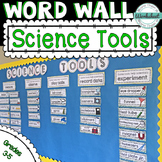 Science Tool Word Wall and Assessment