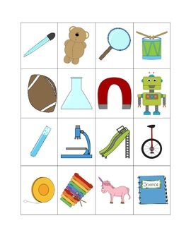 Science Tool or Toy? Sorting Activity